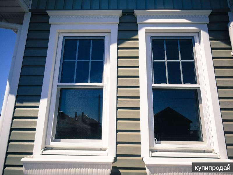 Американские пластиковые окна слайдер