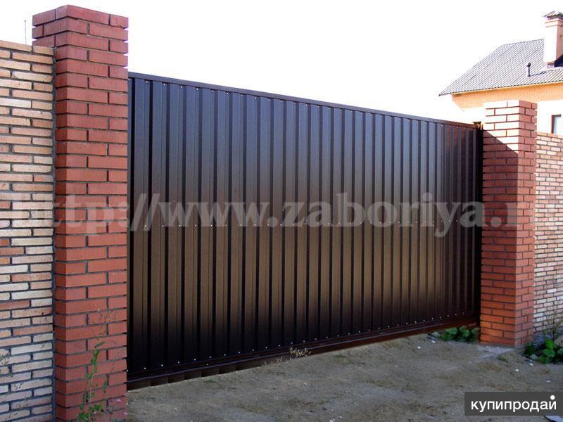 Купить автоматические ворота в москве и московской области купить комплект к откатные ворота