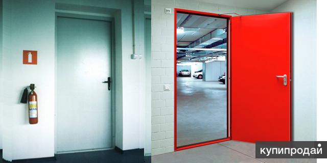 Двери противопожарные EI 60 и EI 90