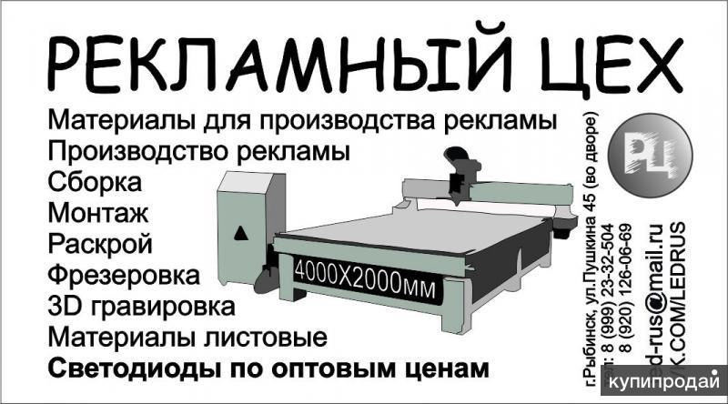 Наружная реклама в Рыбинске