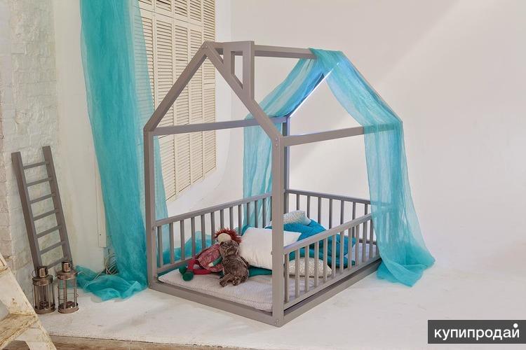 Как украсить кровать домик