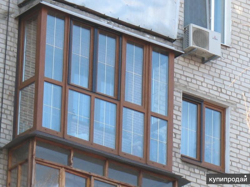 Остекление лоджий пластиковыми окнами в новосибирске