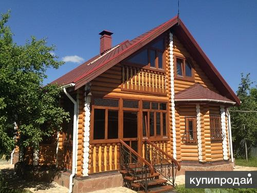 Производство и строительство деревянных домов из бруса и  бревна