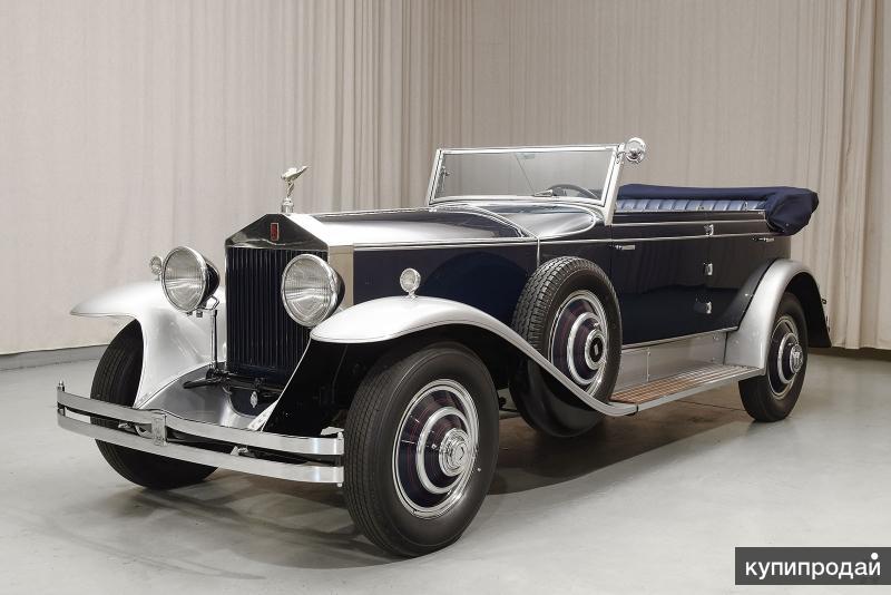 1930 Rolls-Royce phantom I newmarket phaeton