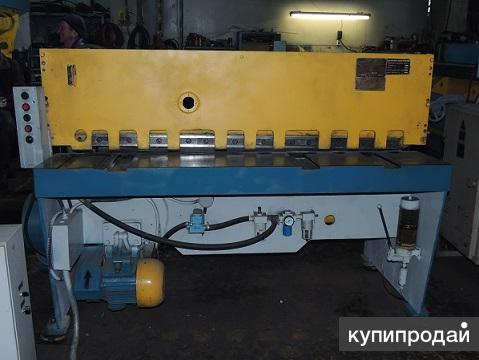 Гильотина для металла НД3314 4х1600мм после ремонта.