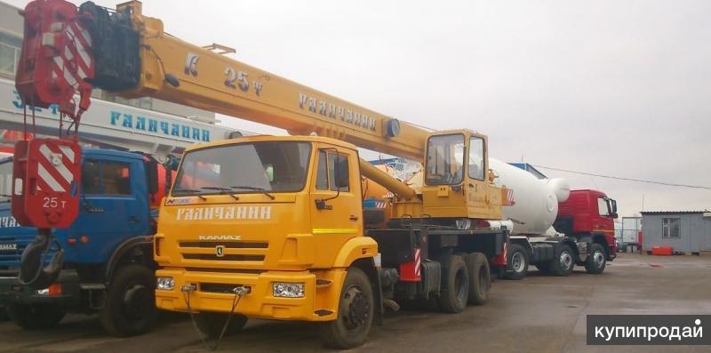 КС 55713-1 автокран 25т.  (КАМАЗ-65115) Евро-4