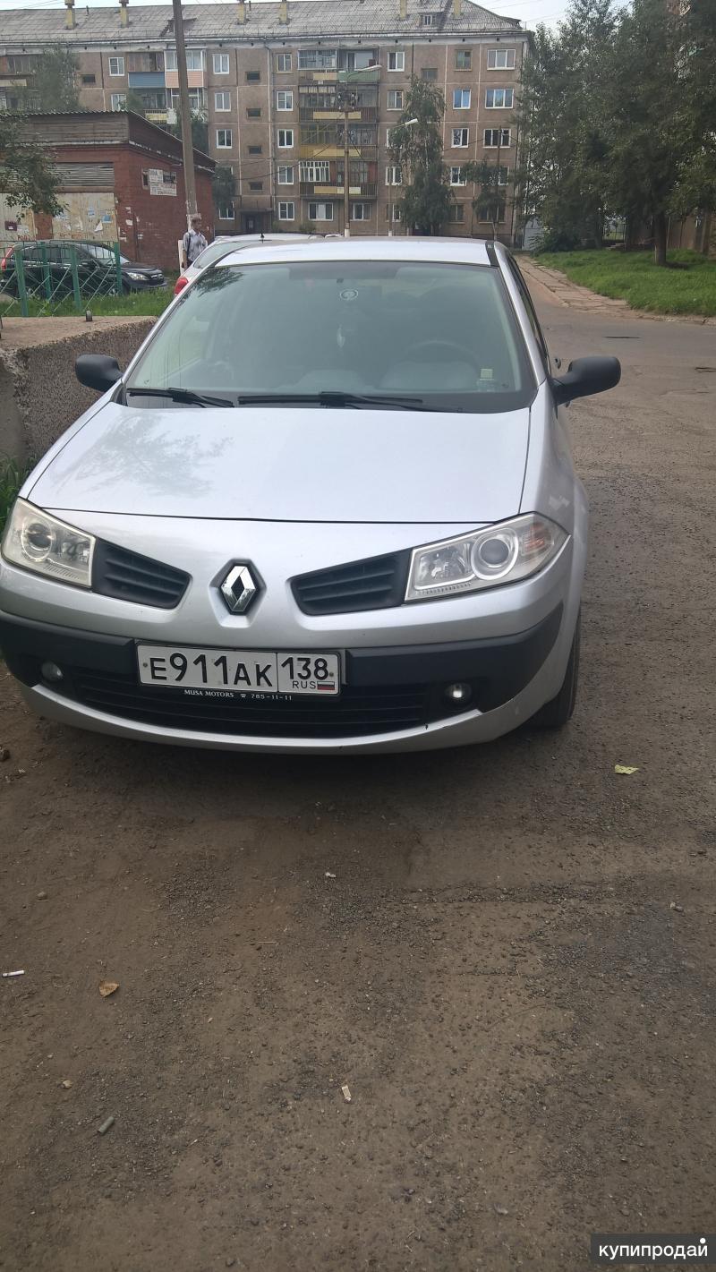 Renault Megane, 2007г.в, продам,машина в исправном состоянии,ремонта не требует,