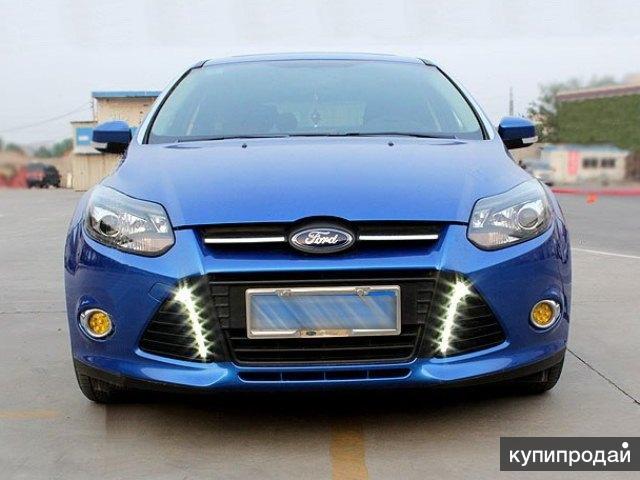 Дневные ходовые огни Ford Focus 3 вертикальные