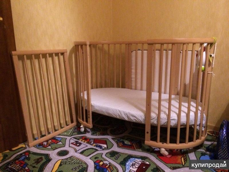 Кроватка Стокке (Stokke) Mini+Sleepi