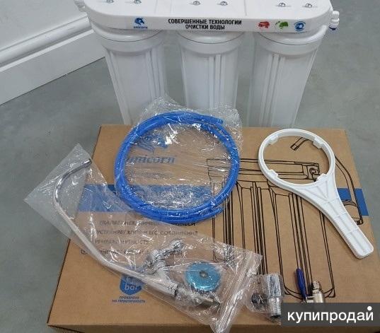 Тройная система очистки воды