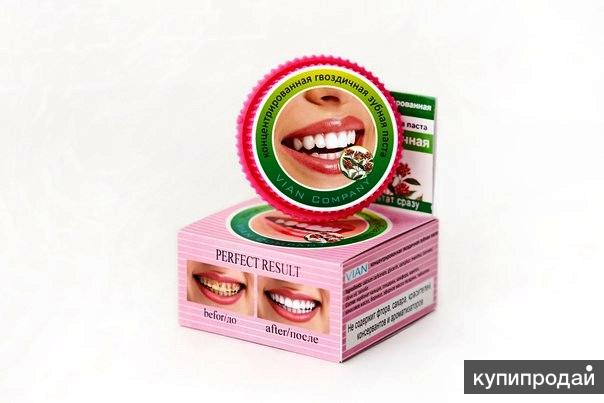 Концентрированная гвоздичная зубная паста, хватит на 3 месяца