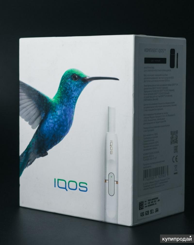 Устройство iqos (айкос) полный комплект