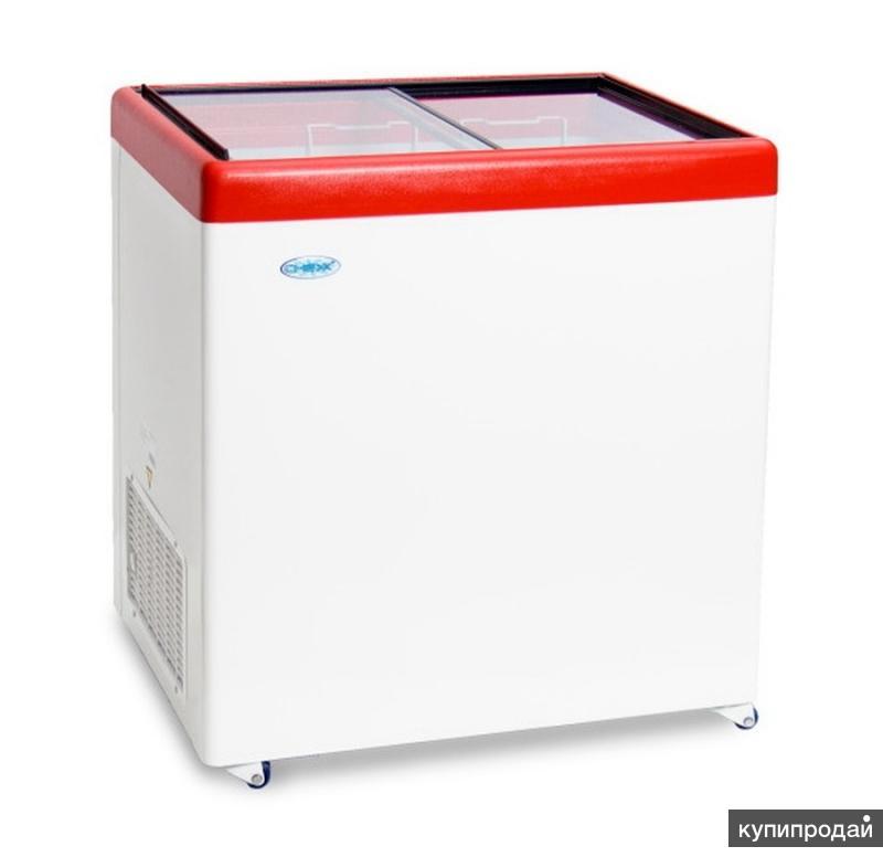 Морозильный ларь млп-250 красный