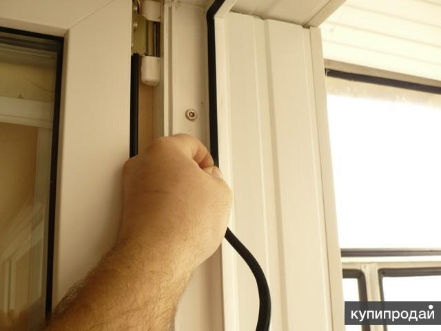 Механизм закрывания пластиковых дверей на балкон