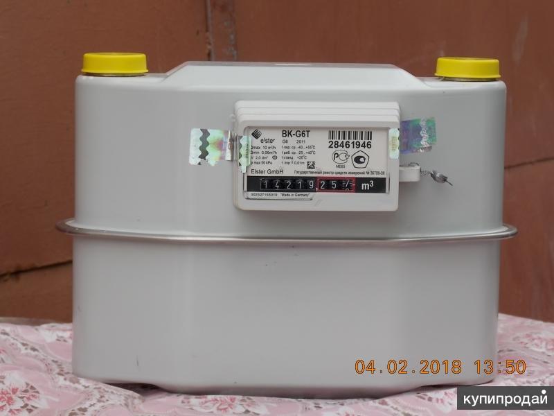 Счётчик газа диафрагменный вк - G6T