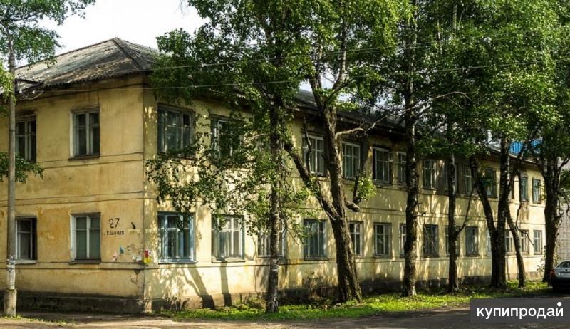 Отдельно стоящее здание многоквартирного жилого дома (общежитие)