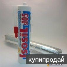 Герметик силиконовый Isosil S105 280 мл бесцветный/белый
