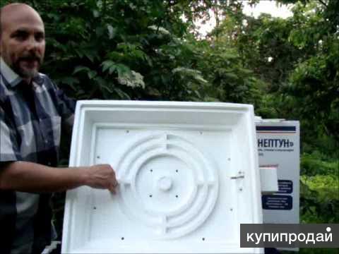 Инкубатор Нептун на 80 яиц с авто переворотом