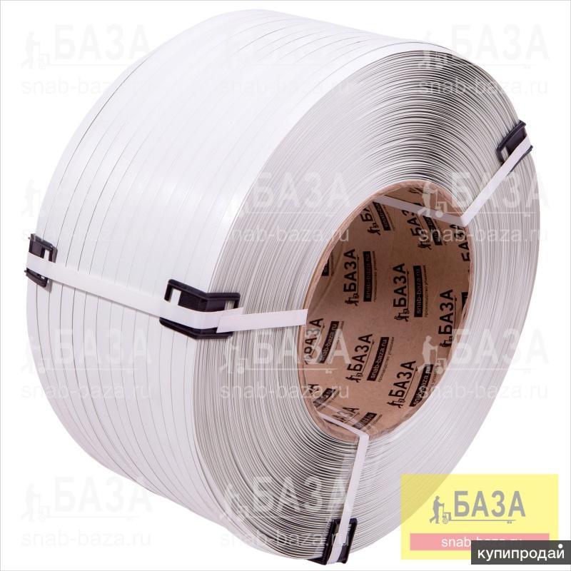 Стреппинг лента 12 мм х 0.6 мм х 3000 м, ПП, белая