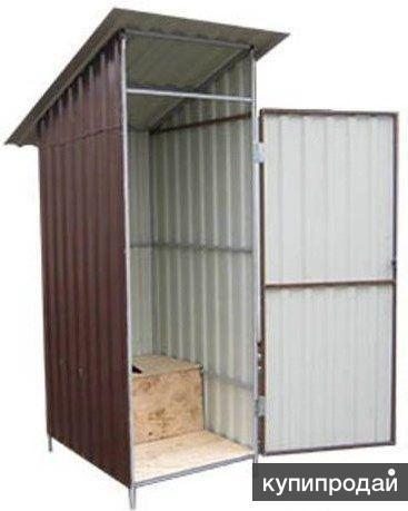 Туалет дачный. Доставка бесплатная по всей области