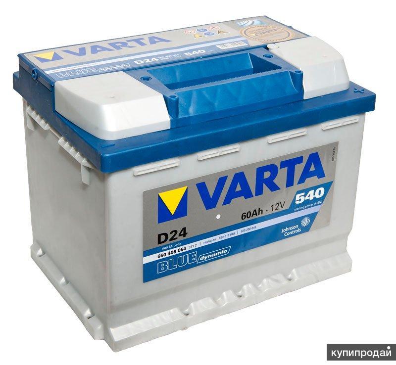 Аккумулятор Varta BD 60 Ач