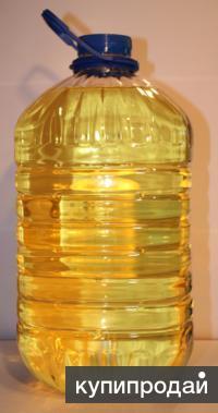 Масло подсолнечное рафинированное оптом
