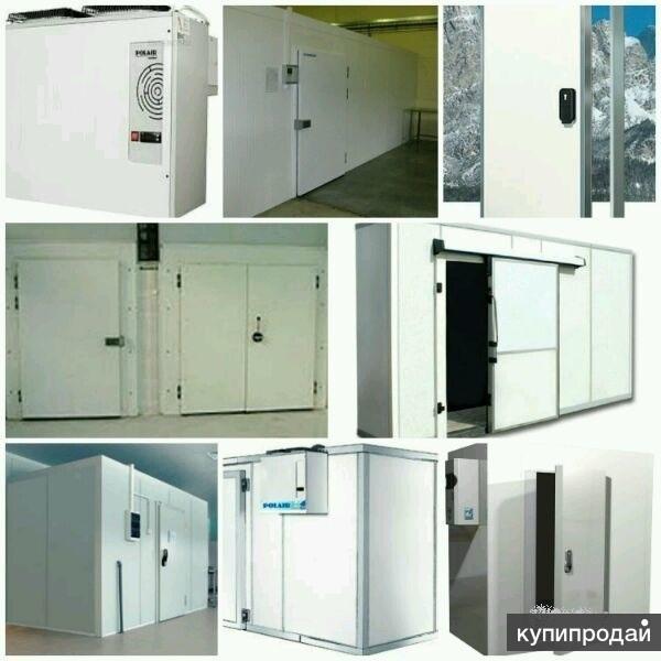 Холодильная камера. Объем 2-100м3. PIR40