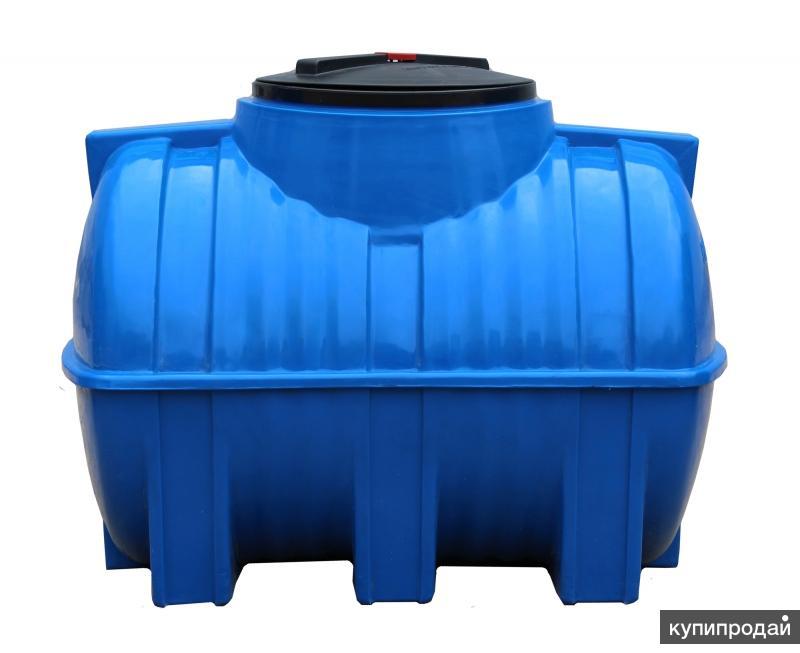 Пластиковые баки и бочки для воды