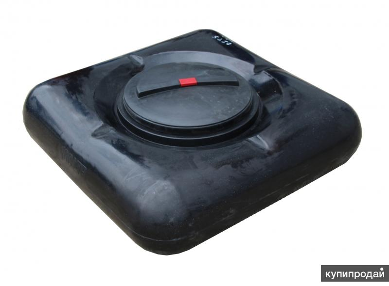 Баки для летнего душа черные пластиковые с УФ фильтром