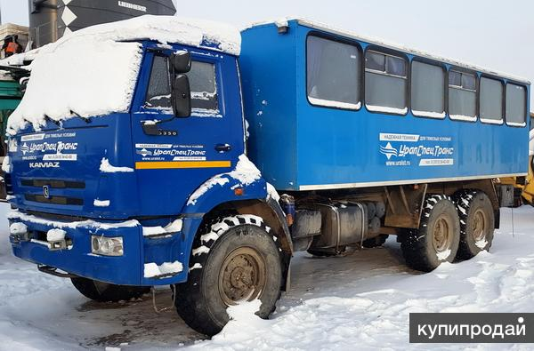 Вахтовый автобус Камаз 43118 вездеход 6х6 бу