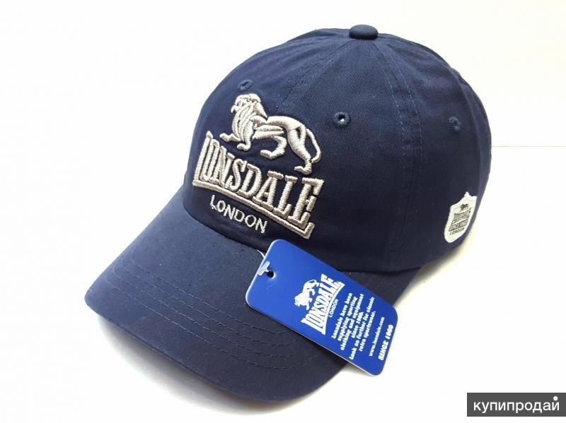 Кепка бейсболка мужская Lonsdale (blue)