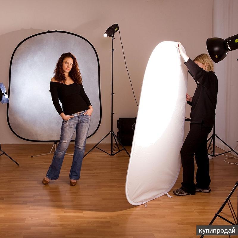 отражатель на просвет для фотостудии