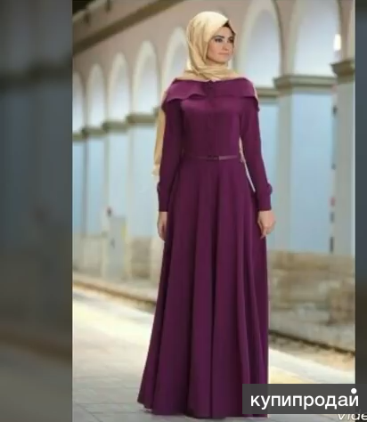 Женские мусулманские платья