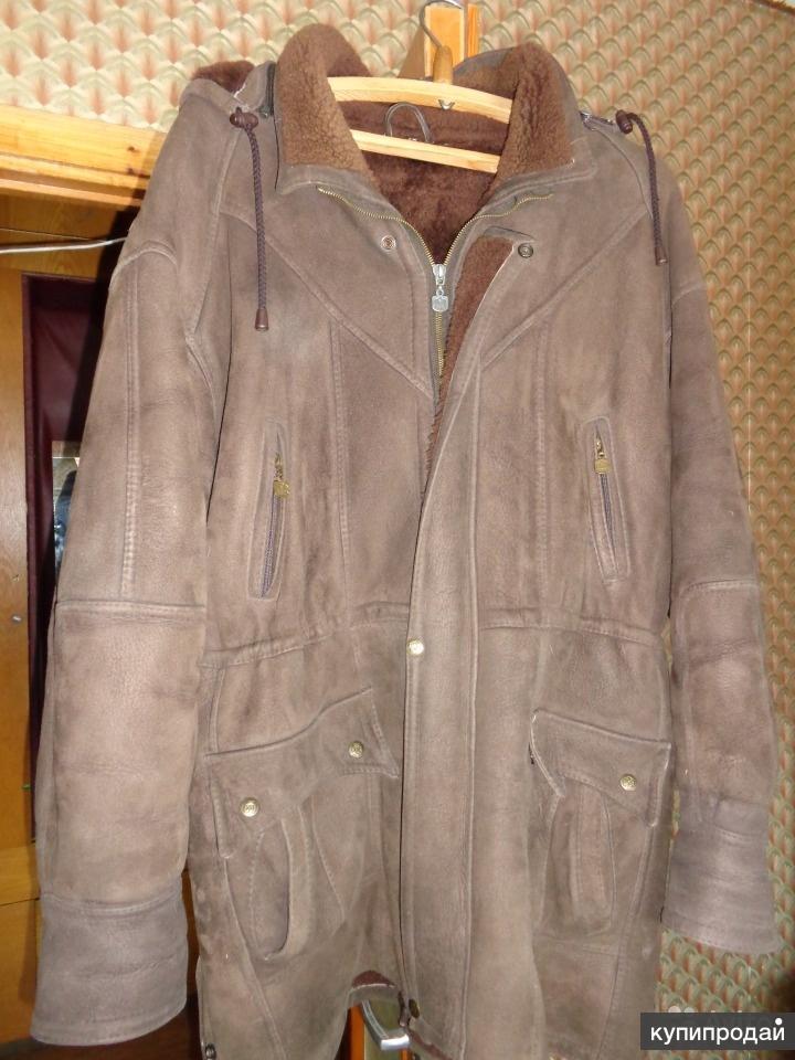 Продам мужскую дублёнку, куртку, ботинки..