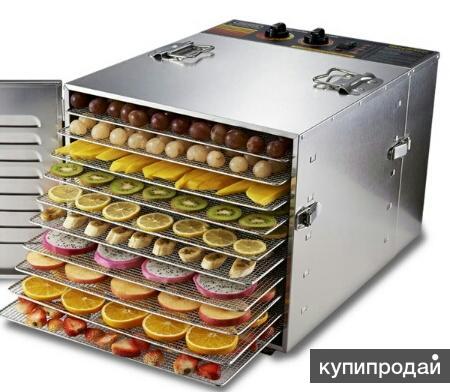Сушилка овощей и фруктов (10 лотков) дегидратор