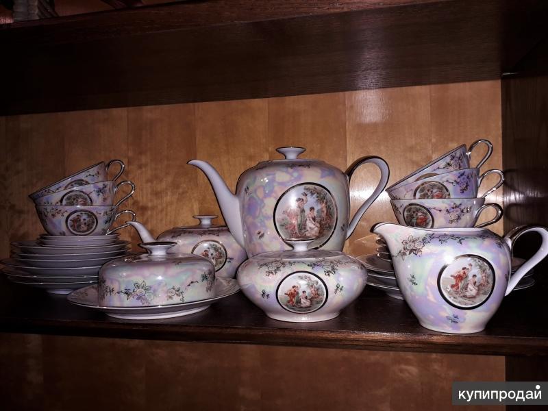 Сервиз чайный Германия Мадонны 6 персон