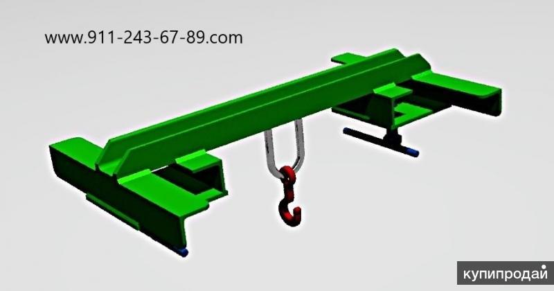 Захват крюковой (насадка) 0,5 т (500 кг) для вилочного погрузчика