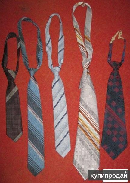 Галстук мужской для рубашки классика времён СССР винтаж
