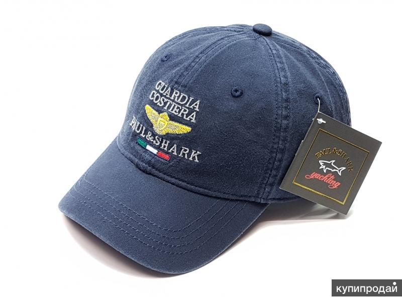 Бейсболка кепка Paul Shark Guardia Costiera (т.синий)