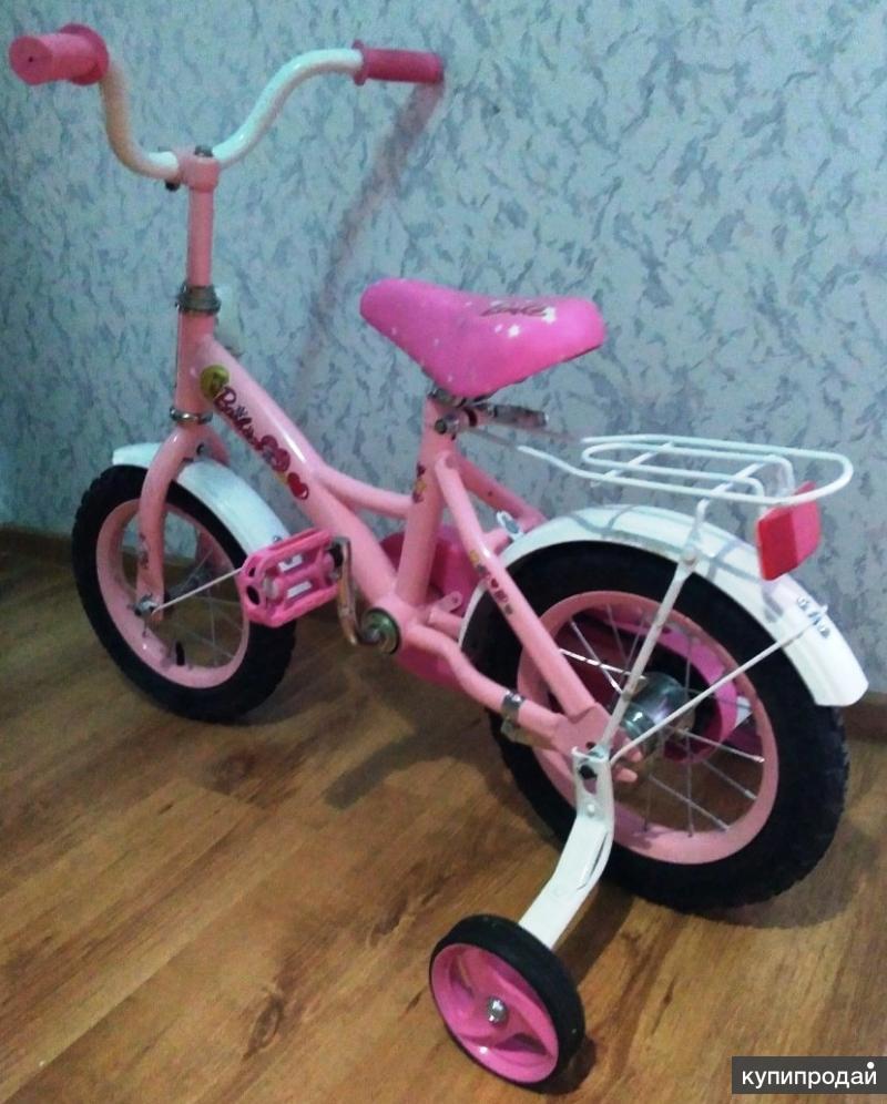 Предлагаю детский велосипед для девочки, состояние отличное. Возраст 2+