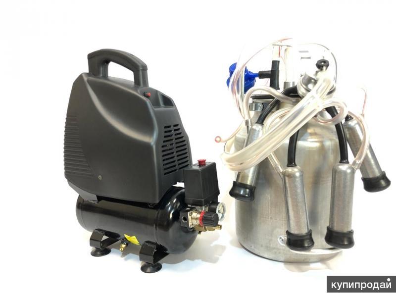 МДА-6,доильный аппарат для коров, к/т (до 5 гол), сухого типа