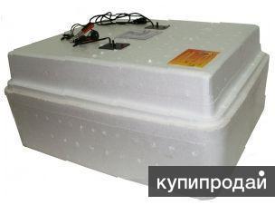 Инкубатор Несушка №64г БИ-2 на 104 яйца U-220/12В, цифр.терм., авт. пов., гигром