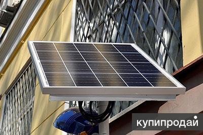Уличный фонарь на солнечной батарее автономный