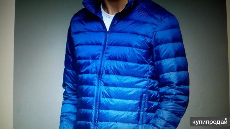 Легкая пуховая куртка
