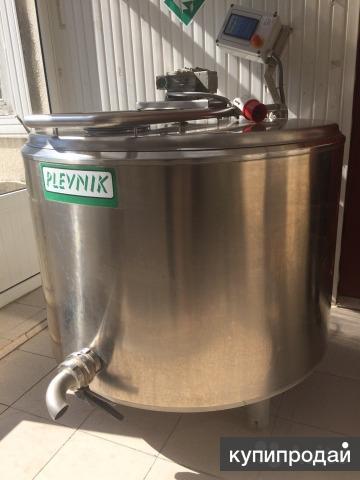 Продается Сыроварня, пастеризатор молока Plevnik