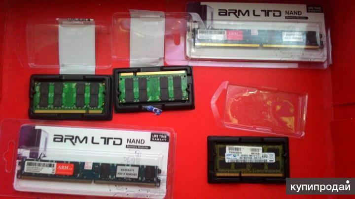 Оперативная память DDR2 DDR3 2-4-8 Гб