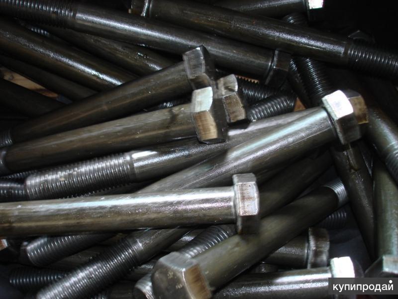 Болты оцинкованные, черные ГОСТ 7798 70 М6 - М56 обычные и высокопрочные