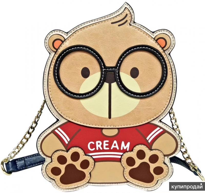 Шикарная сумка cream bear