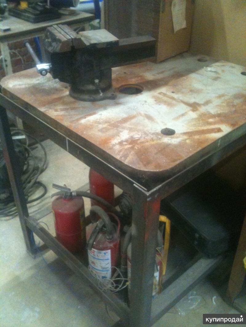 Столешница для фрезерного станка. Может использоваться, как сварочный стол