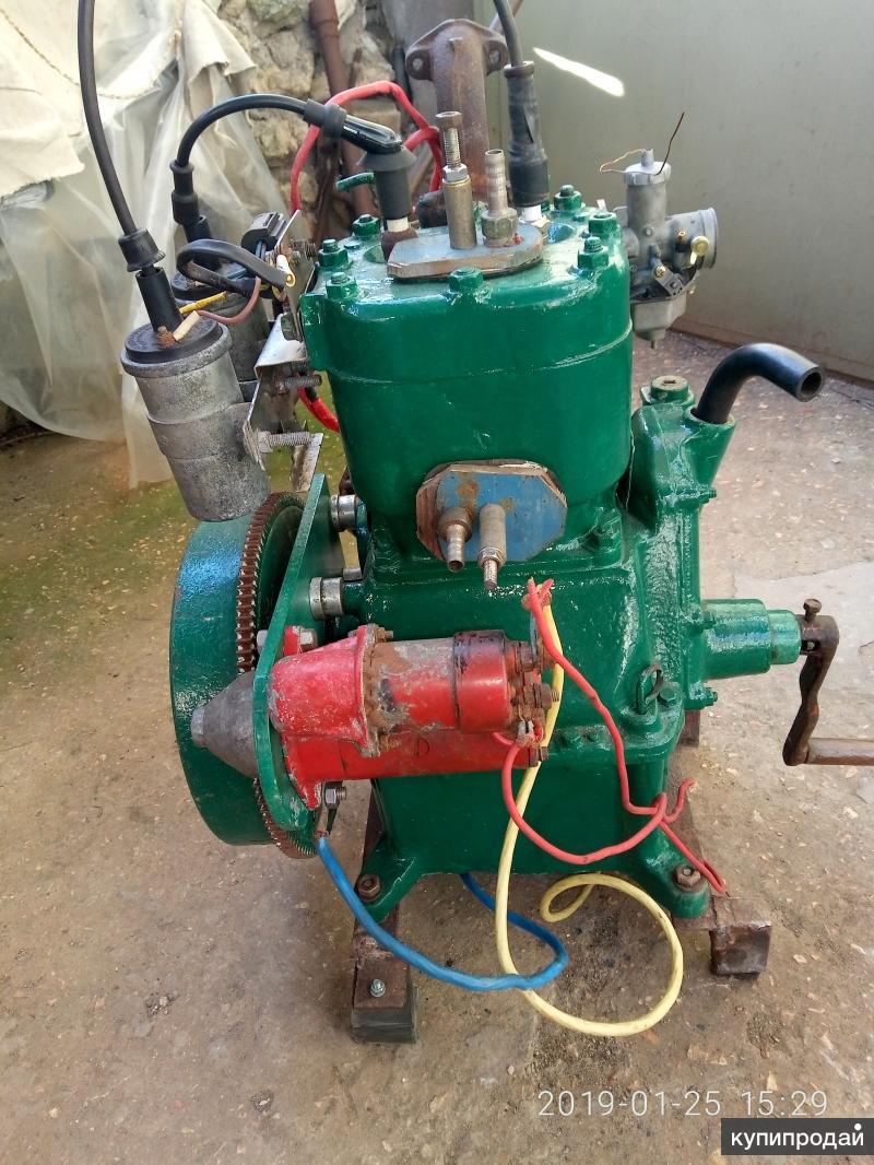 Л-6 стационарный лодочный двигатель